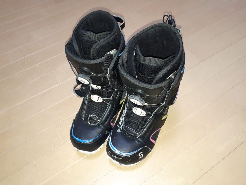 SIMSのブーツ